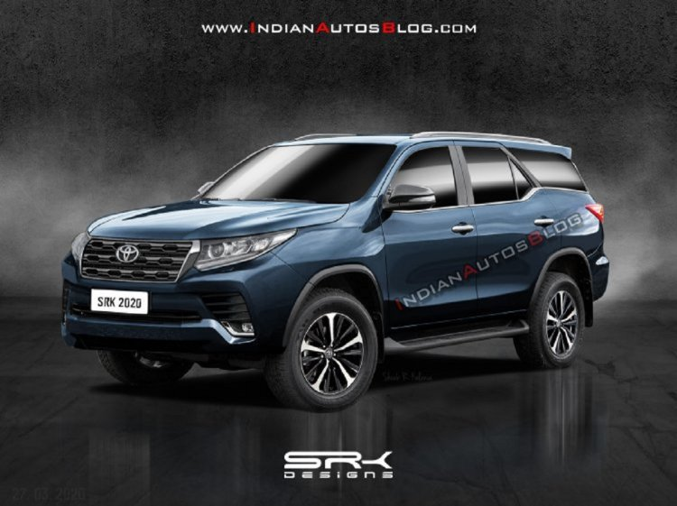 New Toyota Fortuner 2020 Rendering 3bf6