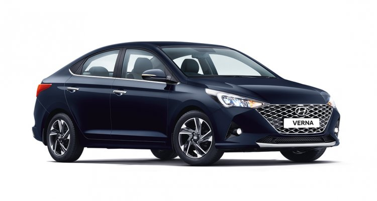 2020 Hyundai Verna Facelift Front Three Quarters R