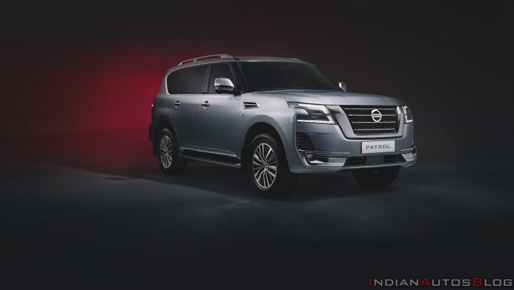 2020 Nissan Patrol Facelift Front Three Quarters