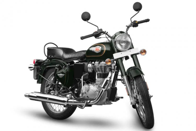 Royal Enfield Bullet 350 Bs6 Front Three Quarter R