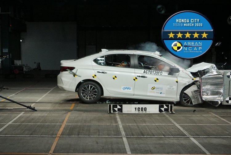 2020 Honda City Crash Test Asean Ncap 619c