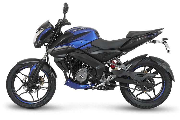 Bajaj Pulsar Ns160 Left Side
