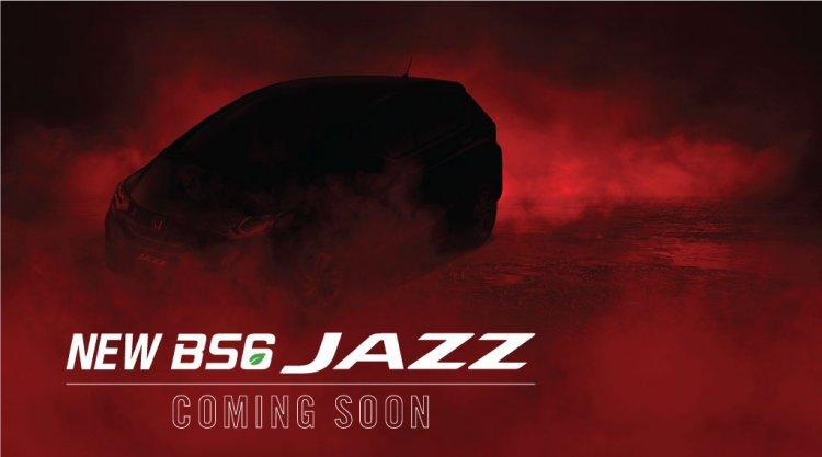 New Honda Jazz Bs6 Teaser