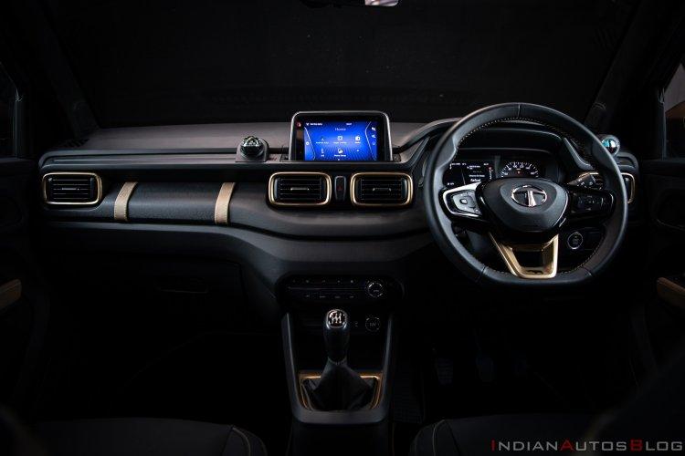 Tata Hbx Concept Interior Dashboard