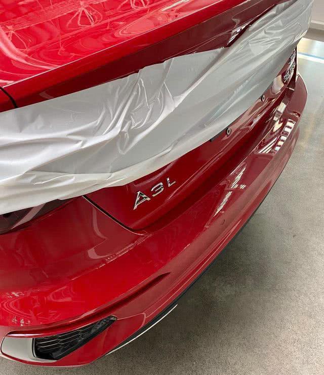 2021 Audi A3 Sedan Boot Lid Spy Shot 5d2b