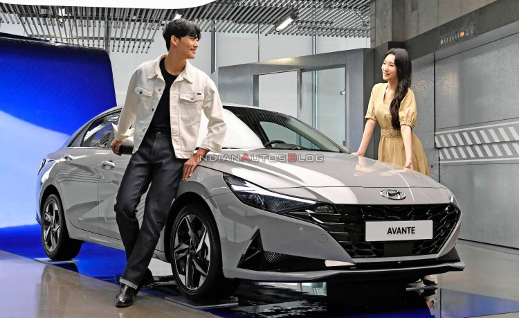 2021 Hyundai Elantra South Korea Launch Iab