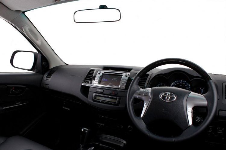 Toyota Fortuner Epic Edition Interior