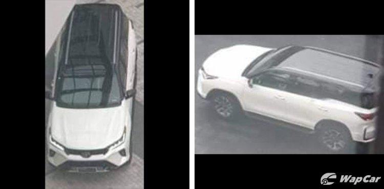 New Toyota Fortuner Facelift 2020 Spy Shot