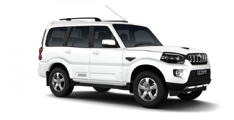 Mahindra Scorpio 2017 Facelift Right Front Three Q