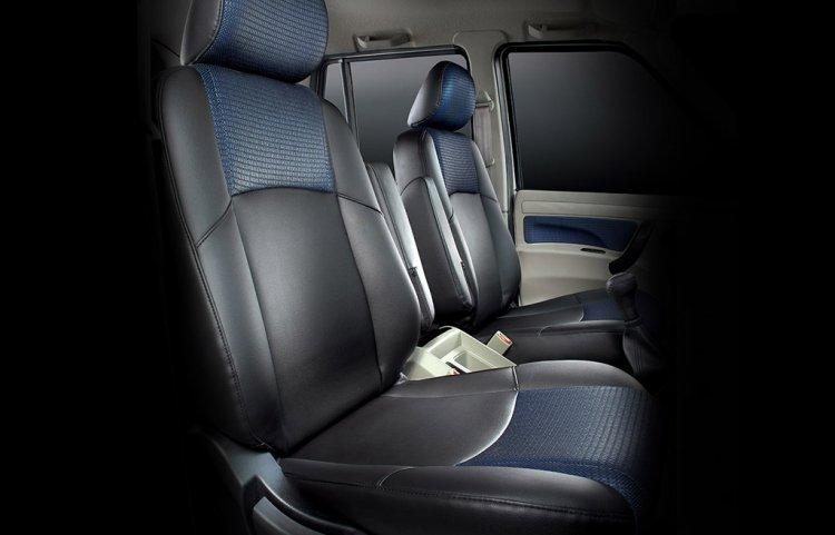 Mahindra Scorpio 2017 Facelift Seat Upholstery