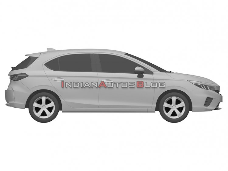 Honda City Hatchback Right Side Iab Fc0f
