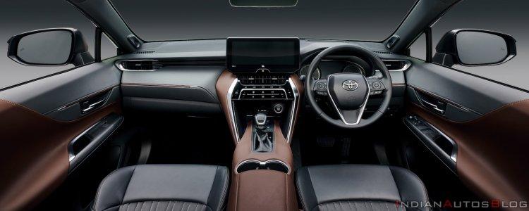 2020 Toyota Harrier Interior Dashboard