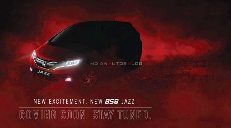 2020 Honda Jazz Facelift Teaser India 619c