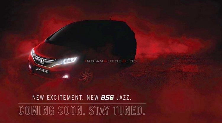 2020 Honda Jazz Facelift Teaser India