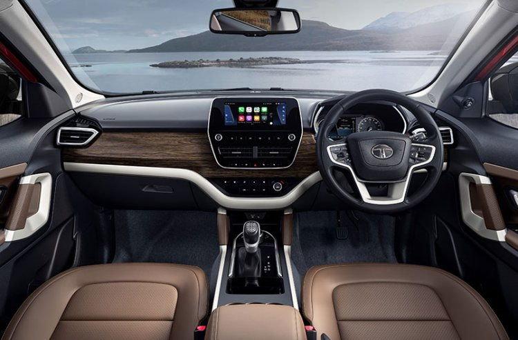 2020 Tata Harrier Review Images Interior Dashboard