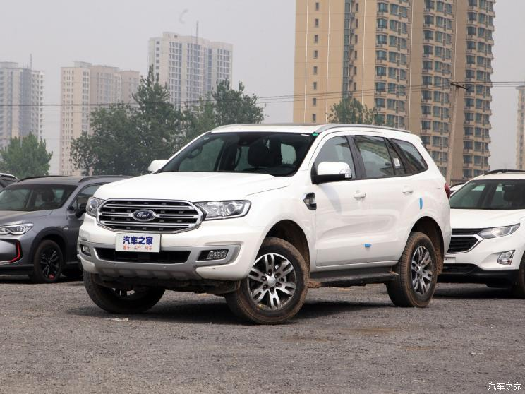 Ford Everest 2 3 Petrol Front Three Quarters
