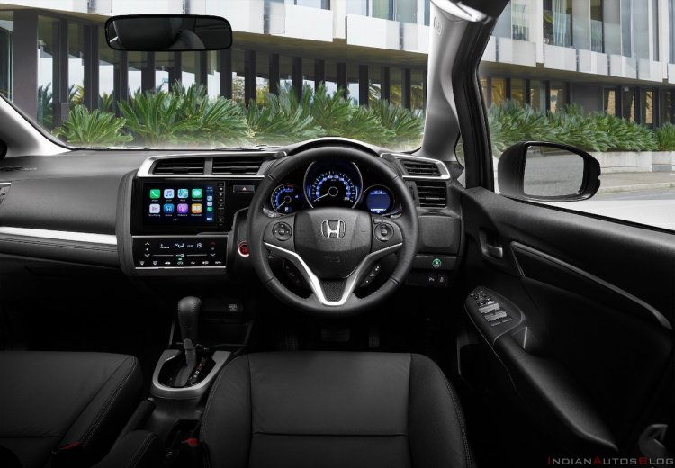 New Honda Jazz Facelift Interior