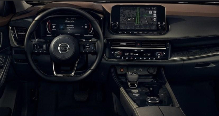 2021 Nissan X Trail Rogue Dashboard Driver Side