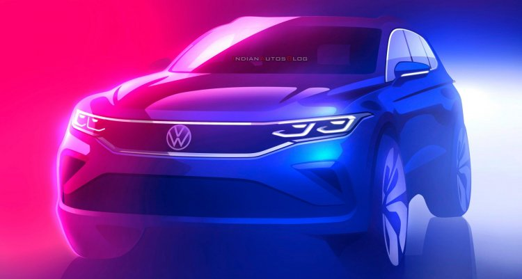 New Vw Tiguan Facelift 2021 Teaser 933b