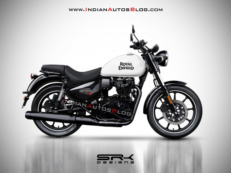 Royal Enfield Meteor 350 Render White