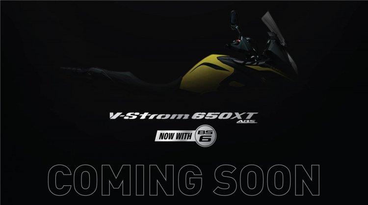 Suzuki V Strom 650 Xt Bs6 Teaser Image
