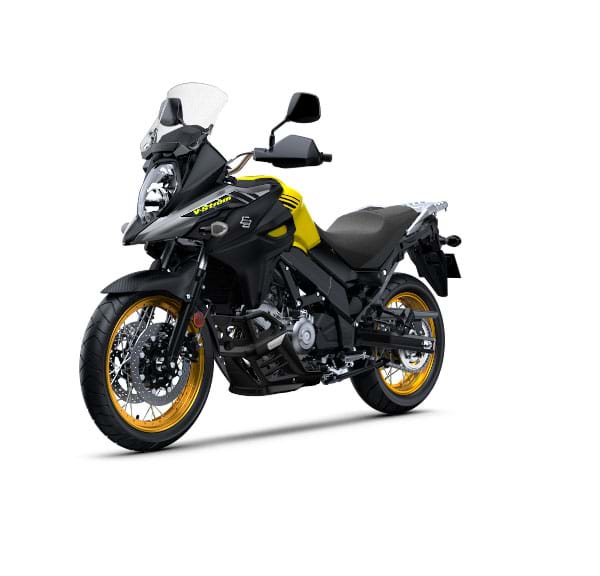 Suzuki V Strom 650 Xt Press Front Left Quarter