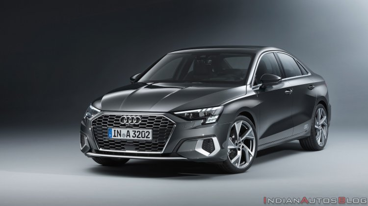 2021 Audi A3 Sedan Front Three Quarters Left Side