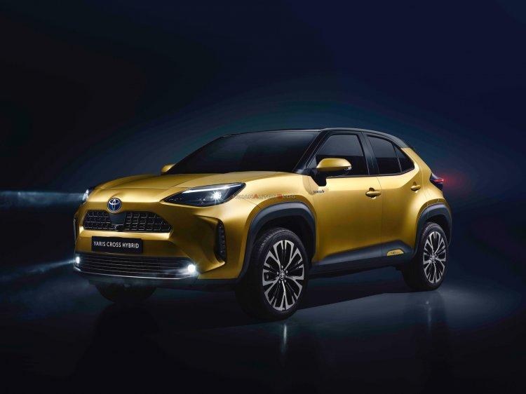 Toyota Yaris Cross Front Three Quarters