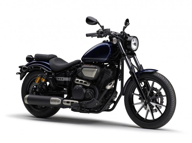 Yamaha Bolt Blue Front Three Quarter