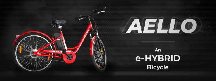 Nexzu Mobility Aello E Hybrid Cycle 4add
