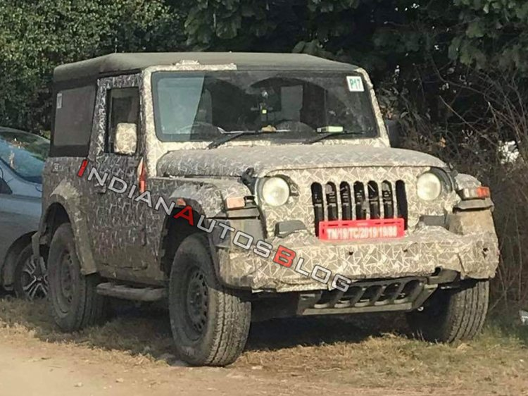 2020 Mahindra Thar Spied Images 1 4dbf