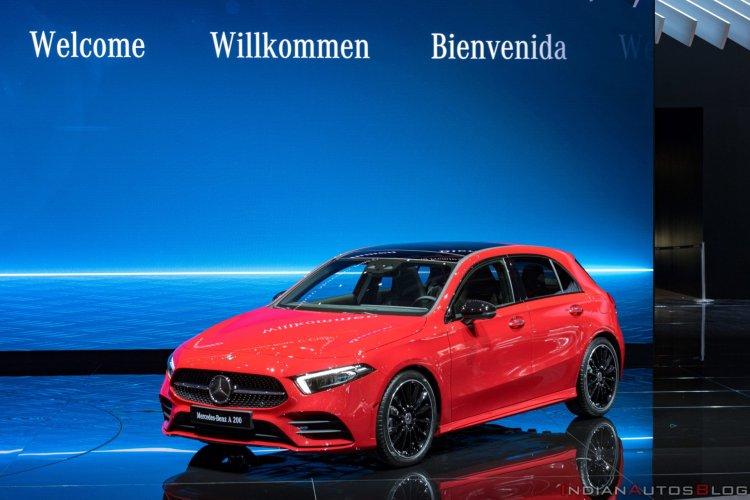 Mercedes A Class Exterior World Premiere 0f14