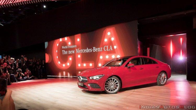 Mercedes Cla Coupe Exterior World Premiere