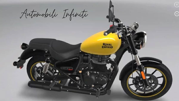 Royal Enfield Meteor 350 Yellow 925c