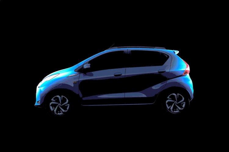 2020 Datsun Redi Go Facelift Side Profile Teaser E