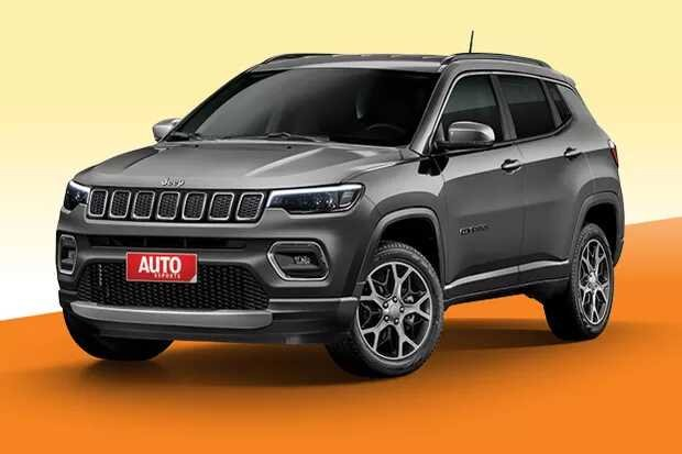 2021 Jeep Compass Facelift Front Rendering