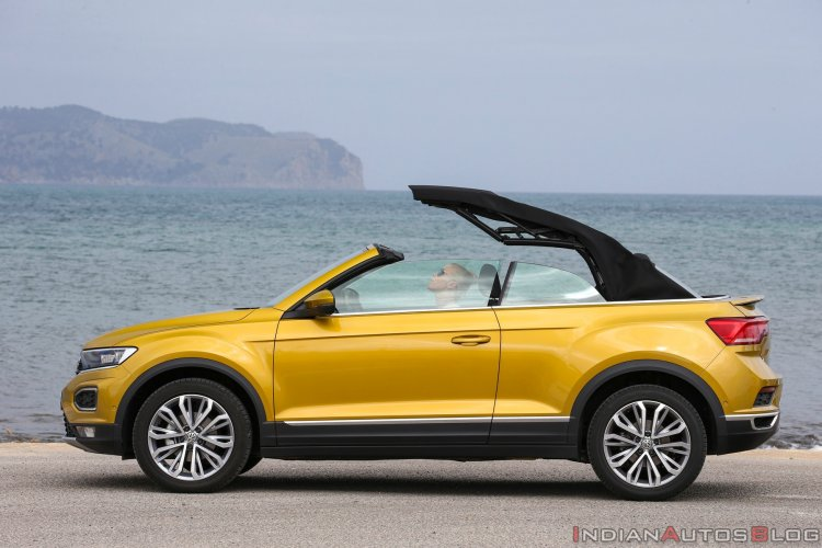 Vw T Roc Cabriolet Roof