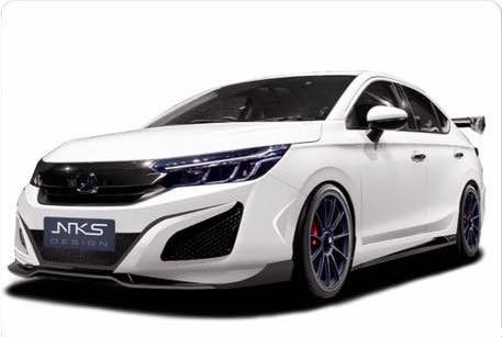 2020 Honda City Modified Bodykit Nks Front Quarter
