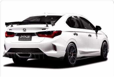 2020 Honda City Modified Bodykit Nks Rear Quarters