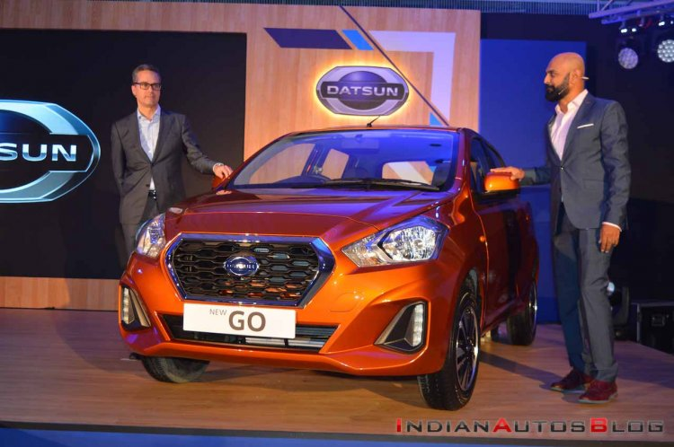New Datsun Go Facelift Front 4974