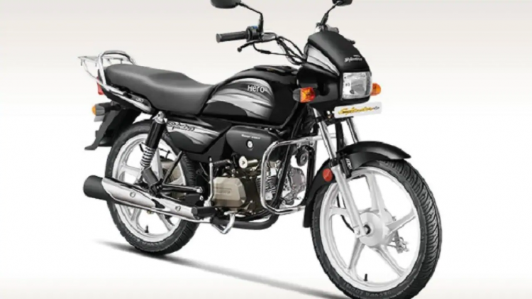 Hero Splendor Bs4 Front Three Quarter F0ac