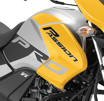 Bs6 Hero Passion Pro Fuel Tank Graphics