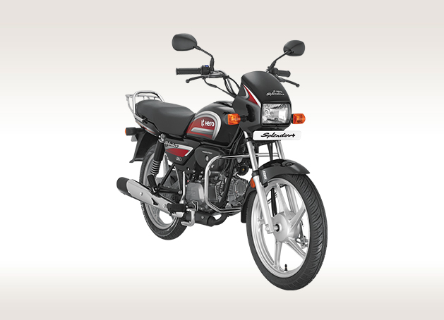 Bs6 Hero Splendor Front Three Quarter Rt 425d