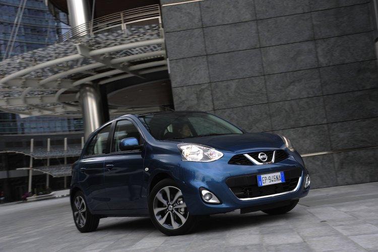 2013 Nissan Micra Facelift Front Three Quarter Rig