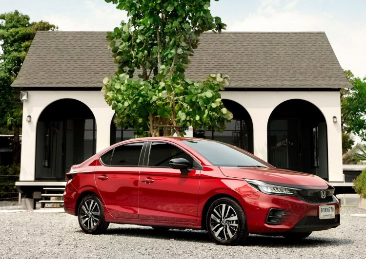 2020 Honda City Front Quarters On Location