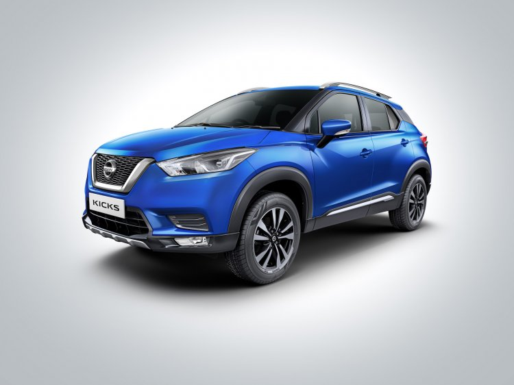 2020 Nissan Kicks Bs6 Front Quarters