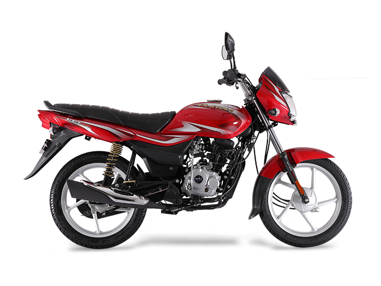 Bajaj Platina 100 Bs6 Right Side