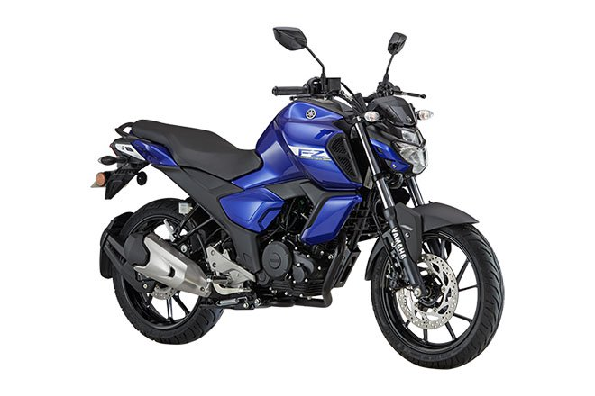 Bs6 Yamaha Fz Fi Front Three Quarter Rt