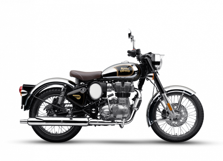 royal enfield classic 350 price Bs6 Royal Enfield Classic 350 Chrome Black