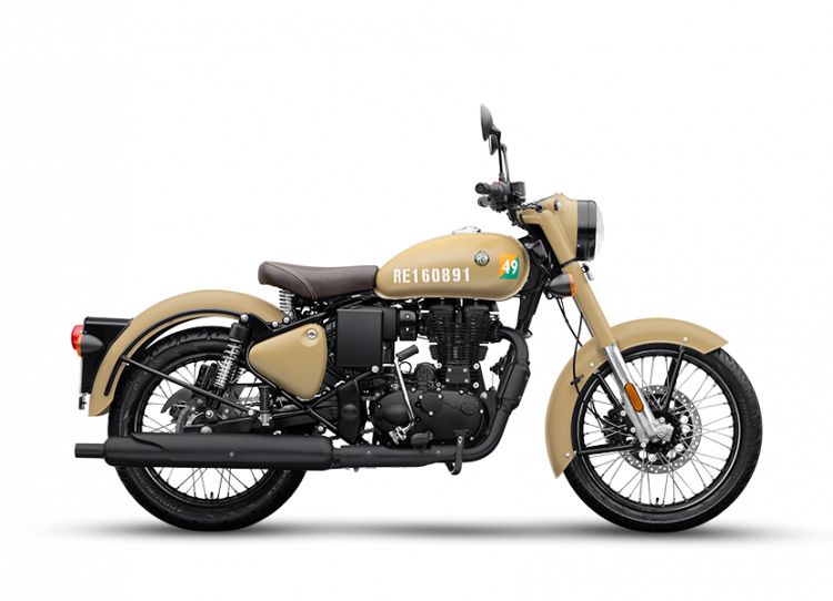 Bs6 Royal Enfield Classic 350 Stormrider Sand